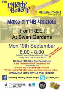 TUBUP at Swan Gardens Corby